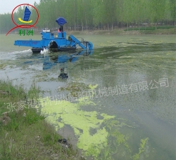 Automatic cleaning the river boat (paddle)